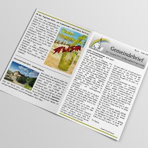 Gemeindebrief April bis Juni