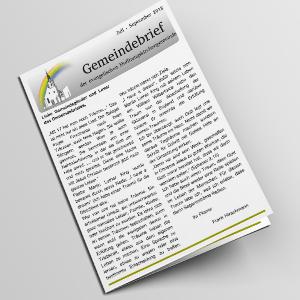 Gemeindebrief Juli bis September